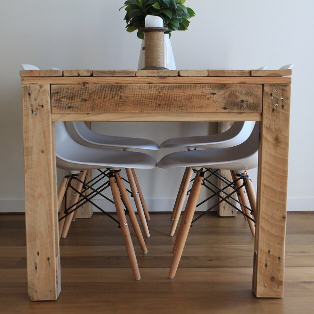 Crative-Pallet-Dining-Table-Upcycled-Timber